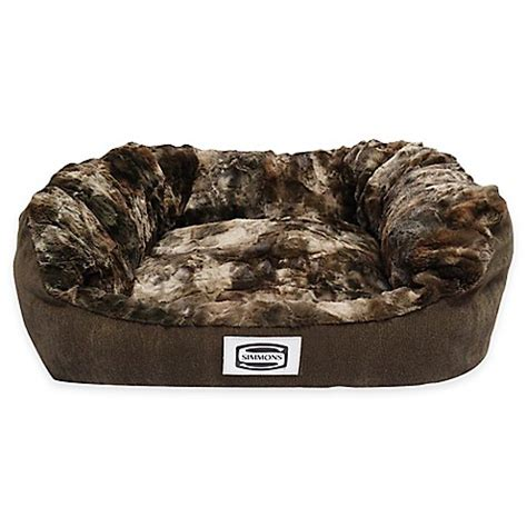 buy simmons 174 supreme small bed in chocolate from bed