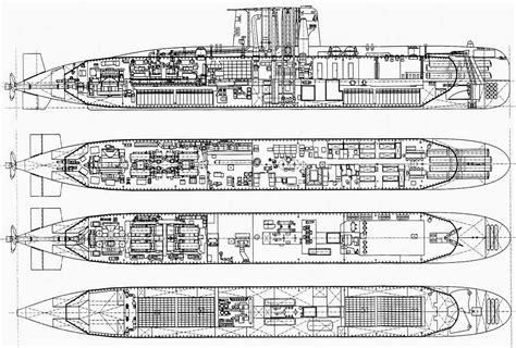 submarine floor plan u209 detailed drawing modern warships pinterest