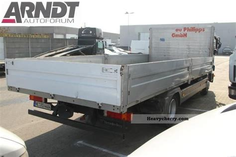 Trailer Hitch Flat Rack by Mercedes Atego 824 L Flatbed Auto Trailer Hitch 4