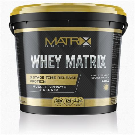 Whey Matrix Matrix Whey 100 Protein Powder Shake Anabolic