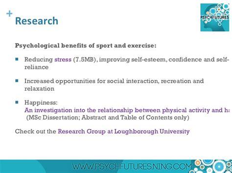 sport dissertation topics sports psychology dissertation questions
