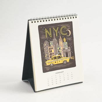 paper source desk calendar bon voyage desk calendar paper source