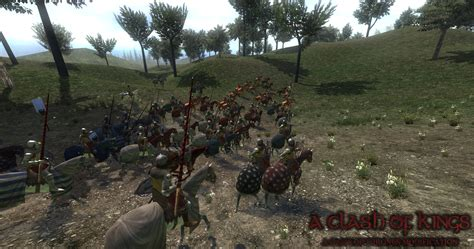 mod game of thrones mount and blade warband knights charging image a clash of kings game of thrones
