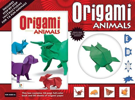 Origami Animals Book - origami animals by hinkler books other format barnes