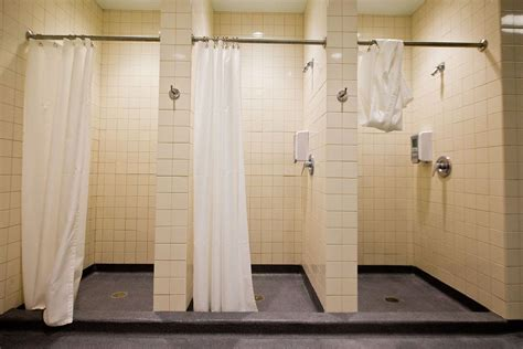locker room shower stalls heard on the show stalls for all no more style showers wls am 890 wls am