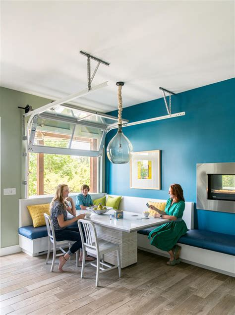 cool home  turquoise  green accents interiors  color