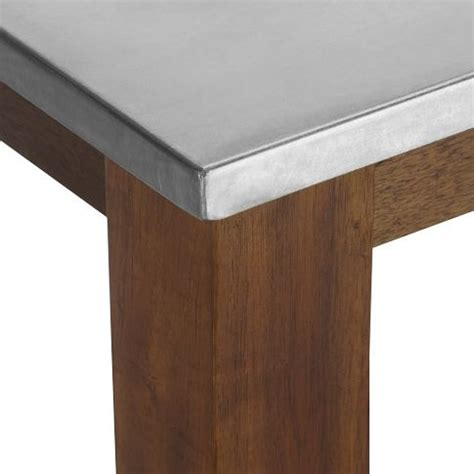 Dining Table With Stainless Steel Top Dining Table Stainless Dining Table Top