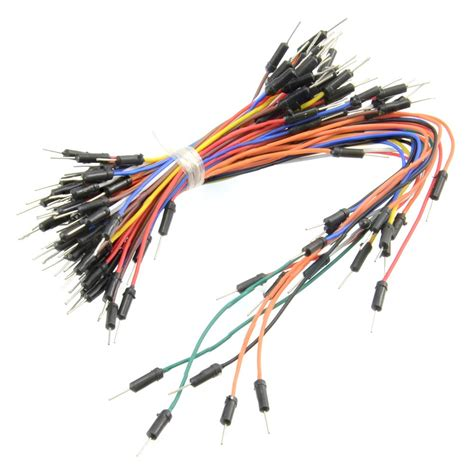 Jumper Cable solderless breadboard jumper cable wires 75 pieces australia