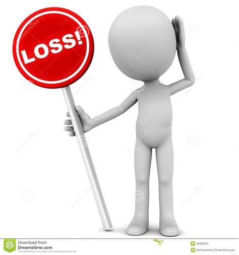 loss of a loss royalty free stock image image 30400916