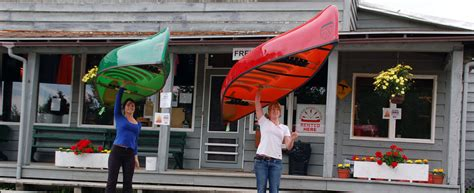 canoes made in ontario killarney provincial park canoe rentals