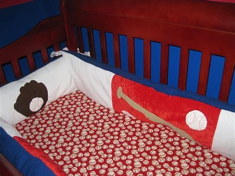 Baseball Nursery Bedding Baby Time Pinterest Baseball Baby Bedding Crib Sets