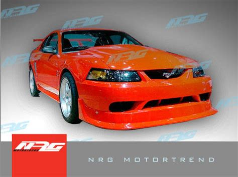ford mustang  front bumper body kit ebay