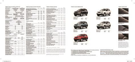 service manuals schematics 2011 mazda tribute instrument cluster 2011 mazda tribute brochure