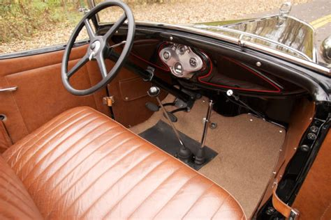Model A Ford Upholstery by 1930 Ford Model A Deluxe Rumble Seat Roadster Restored New