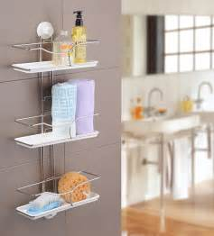 bathroom hanging storage 33 clever stylish bathroom storage ideas