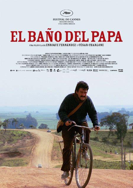 el bano del papa pelicula trailer cartel critica