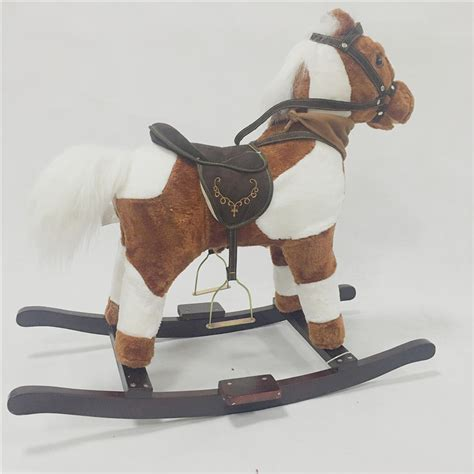 rocking horse decor promotion online shopping for promotional rocking horse decor on aliexpress new chirstmas wooden rocking horses indoor and outdoor