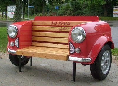 car work bench 36 recycled scrap metal into furniture project ideas
