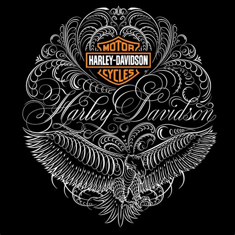 tattoo lettering harley harley davidson 174 apparel on behance script calligraphy