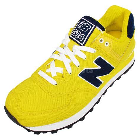 Ardiles Marendaz Navy Yellow Running Shoes new balance wl574poi b yellow navy womens retro running shoes sneakers wl574poib ebay