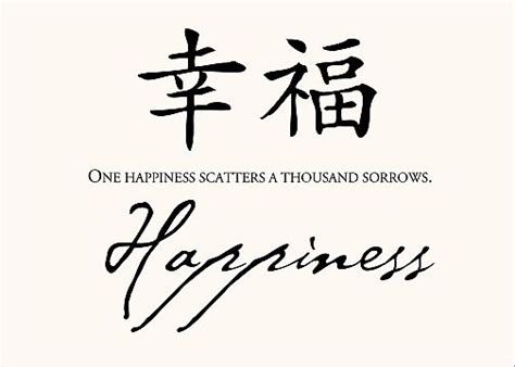 chinese happiness symbol locomente bliss