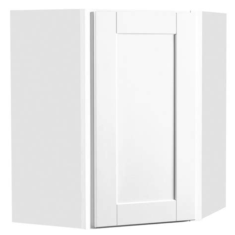 assembled 24x30x12 in wall kitchen cabinet in unfinished hton bay shaker assembled 24x30x12 in diagonal corner