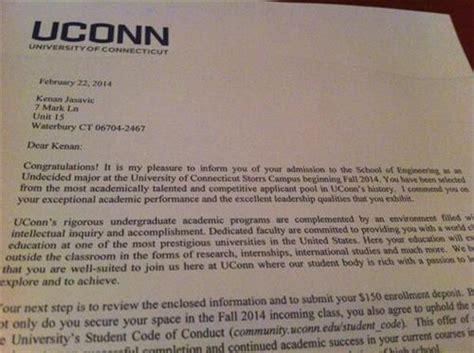 College Acceptance Letter Dates 2014 Ucf Vs Uconn