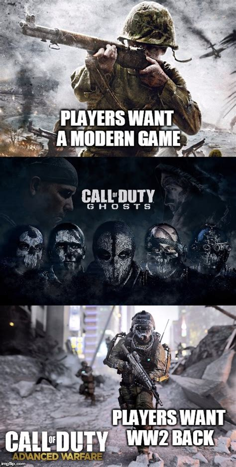Meme Warfare - players want to go back to ghosts after seeing the