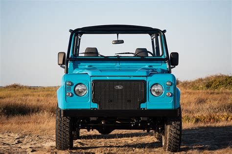 Cool N Vintage Light Blue Land Rover The Coolector