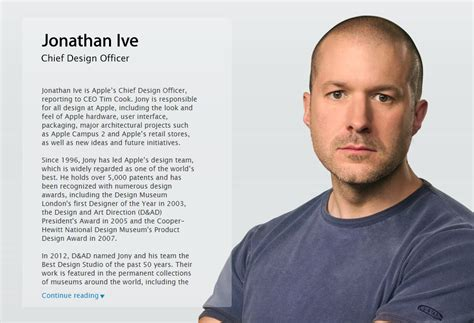 design engineer apple jony ive officially becomes apple s chief design officer