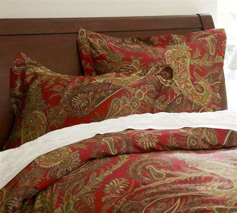 red paisley bedding caroline paisley duvet cover twin red holiday