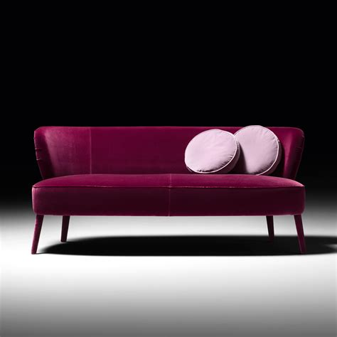 High End Velvet Day Sofa High End Sofa