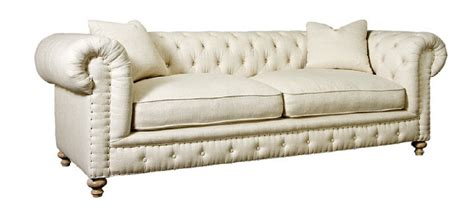 tufted fabric sofa spectra home greenwich tufted natural fabric sofa