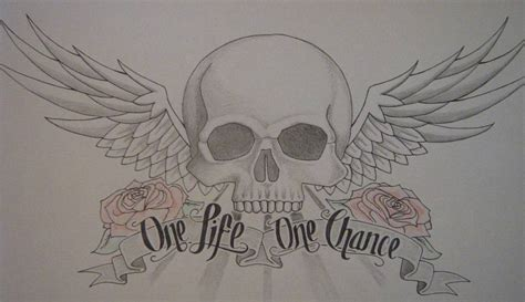 one life one chance tattoo one chance quotes like success