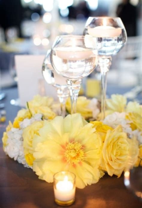 wedding reception with candles wedding candle decorations archives weddings romantique