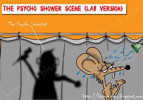 Bathroom Shower Idea Biocomicals The Psycho Shower Scene Lab Version