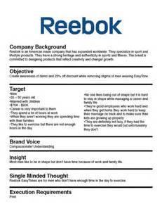 marketing brief template 19 best creative brief exles images on