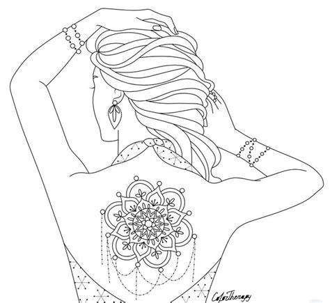 body art coloring page 95 best body art tattoo coloring pages for adults images