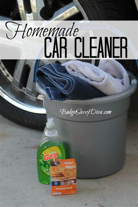 diy car cleaner how to make car cleaner budget savvy