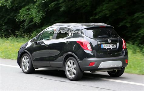 vauxhall buick we spied gm testing facelifted buick encore and opel