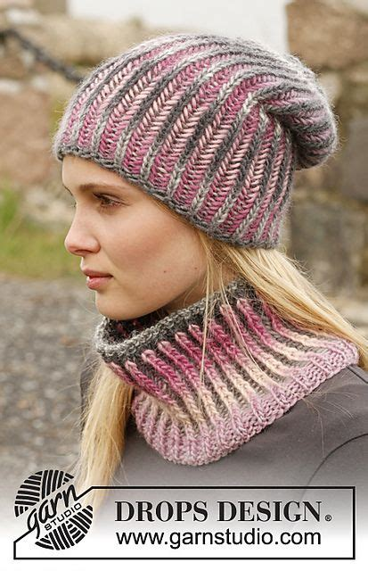 english rib pattern ravelry 151 24 phoenix hat and neck warmer with english