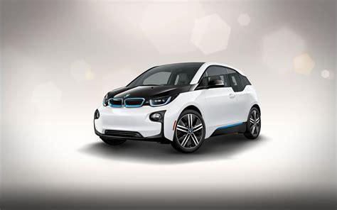 bmw electric car images