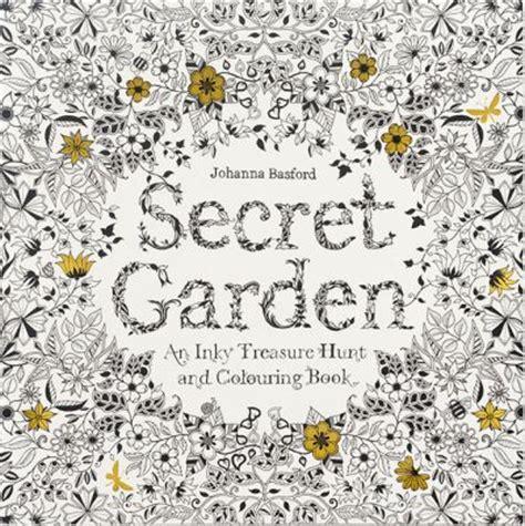 secret garden coloring book book depository secret garden an inky treasure hunt and colouring book