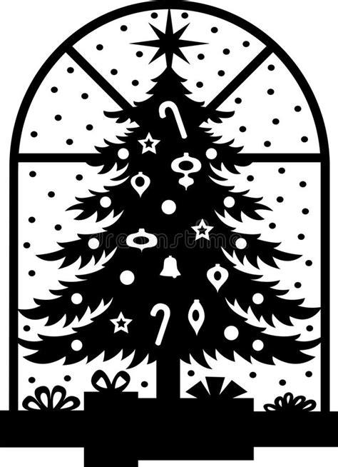 silueta de árbol de navidad silueta 225 rbol de navidad ilustraci 243 n vector imagen 15627927