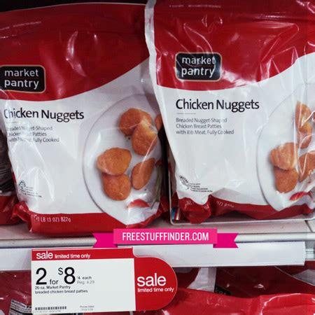 2 85 reg 4 29 market pantry chicken nuggets at target