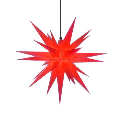 weihnachtsstern beleuchtung herrnhuter weihnachtsstern a7 rot aus kunststoff mit