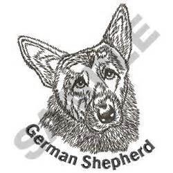 embroidery design german shepherd german shepherd embroidery designs machine embroidery