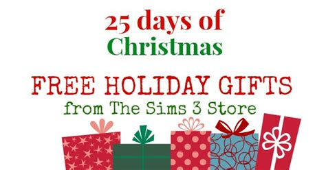 simination 25 days of christmas day 2 free holiday
