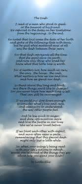 comforting poems for loss of loved one an amazing poem for anyone that has suffered the loss of a