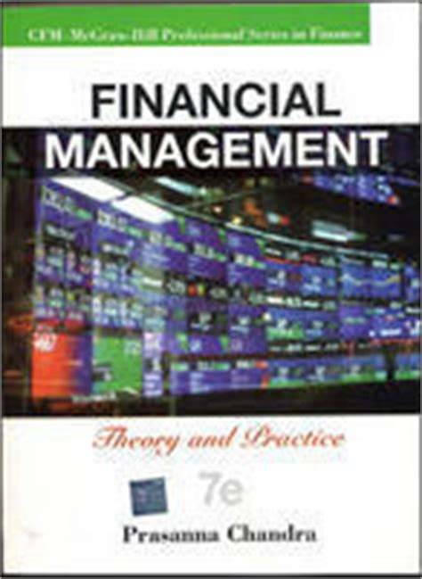Financial Management Books For Mba Free by Financial Management By Prasanna Chandra